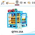 Qtj4-25a bloco oco que faz máquinas, manual do bloco de concreto máquina de moldagem