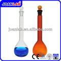 laboratorio de joan matraz aforado de medición de frasco