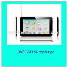7inch ATSC DVB-T2 Dual Core Digital TV Tablet PC