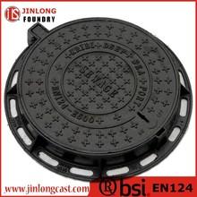 EN 124 round cast iron manhole cover price