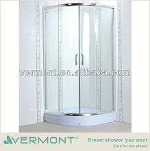 2014 New design bathroom frosted glass shower enclosure