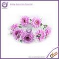 k1366 natural decorativa casamento flores artificiais cabeça grinaldas