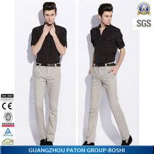 good fabric mens business shirt 2014 of black colours