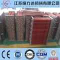 Rame/alluminio/zincato tipo pinna scambiatore di calore a piastre