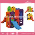 Children plastic indoor play min House wint slide for Kids outdoor playground equipment AP-IS0003