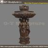 Large Outdoor Bronze Fountain,Bronze Garden Statue Water Fountain