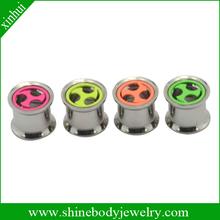 316 steel ear stretchers piercing body jewelry
