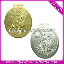 2012 London Olympic 3D angel gold metal medal