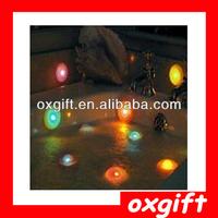 OXGIFT Colorful spa light, floating pool lights, bathtub light with cupule