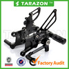 wholesale aftermarket adjustable CNC alloy aluminium motorcycle rear sets/rearsets/footrest for street model CBR 600RR ABS 09-13