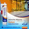 Prefessional Uv Resistance Non Yellowing Construction Glass Sealant