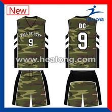 hot sale camouflage basketball jersey camo basketball jersey