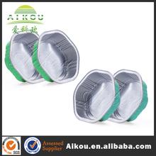 popular transparent aluminum pet fruit clamshell box