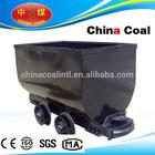 carro minera con ruedas macizas