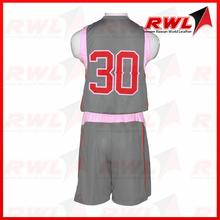 RWL Custom Sublimation Reversible Basketball Uniform High Quality Jerseys