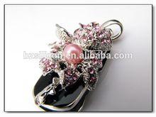2014 New design usb drive cheapest jewelry flash memory jewelry usb flash drive 500gb