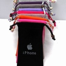 velvet cell phone bags/pouches