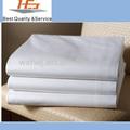 de algodón egipcio cama de sábanas blancas al por mayor