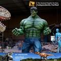 3d figure personnage de dessin animé montres hulk film