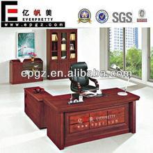 kaliteli modern yöneticisi kullanılan masif ahşap maun yönetici masası tasarımı