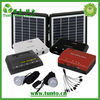 Mini Portable Solar System For Household Lighting With Solar lamp ,Cell Phone Charger(CE Certificate)
