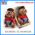 china wholesale vermelho mini pelúcia ursos de pelúcia boneca boneca musical shantou brinquedos