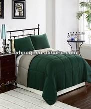 solid color microfibre comforter