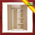 Mobiliario de sala de madera del grano de transferencia de diseño de partición de acero armario del gabinete