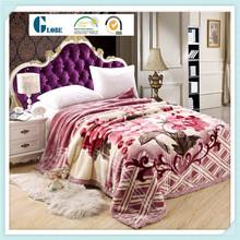 Flannel fleece bed sheet set blankets for dubai