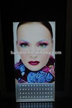 Backlit frameless fabric poster display,fabric light box,fabric light frame