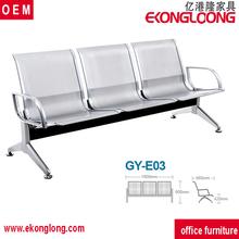 Hastane mobilya bekleme sandalye/döküm sandalyeler