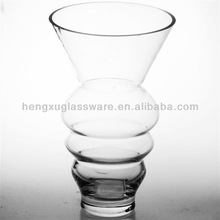 clear cylinder glass vase,Hand blown glass vase,high quality glass vase