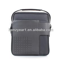 Vintage leather men briefcase laptop bag massenger bag