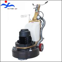 Planetary abrasive plate grinding granite slab polishing machine
