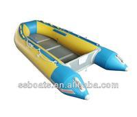Sunshine top quality aluminum floor leisure pontoon boat