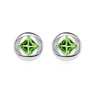 10871 vintage vogue jewelry diamond gold earrings