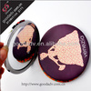 High quality tinplate make up mirror customized compact mirror