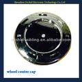 plástico cromado de roda calotas para cadillac uso