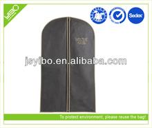 Cheap custom recycled dustproof nonwoven suit garment bag