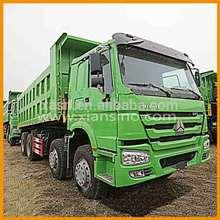 mining tipper truck howo 6x4 right hand driving