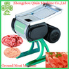 QIXIN high quality electric automatic frozen meat cutting machine/ground meat machine for sale
