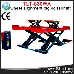Hydraulic alignment car scissor lift Launch TLT830WA
