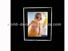 led picture frame / led crystal light frame / light up picture frame