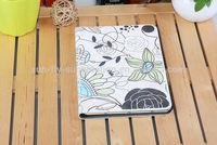 Sublimation leather case /heat press leather filp cell phone case/leather cell phone case for iPad Mini 1/2