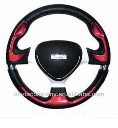 Racing car steering wheel