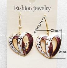 Gets cloisonne 14k gold earring diamond rose cut diamond jewelry wedding drop earring jewelry