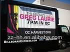 Mobile Advertising ! Car Truck Trailer Advertising Trivision Billboard