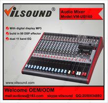 VM-UB160 mixing console/mp3 dj mixer/mixer yamaha