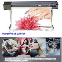 indoor sign print DX5 1815 cmyk ecosolvent printer