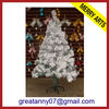 2014 new gifts snowing christmas tree with umbrella base